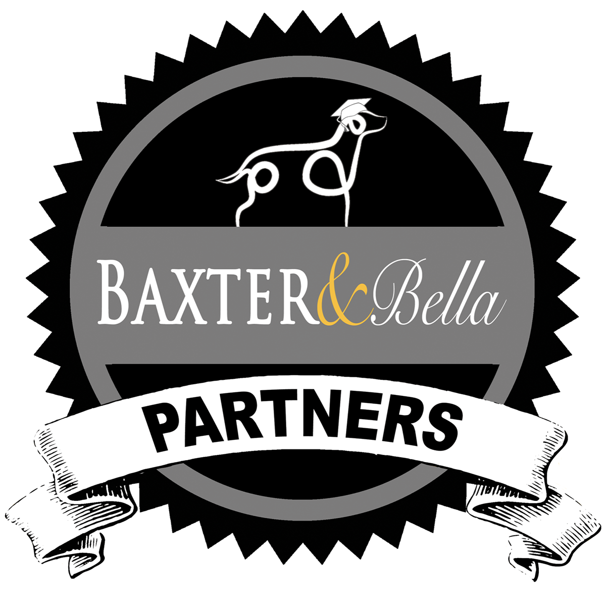 Baxter and Bella Partners Badge